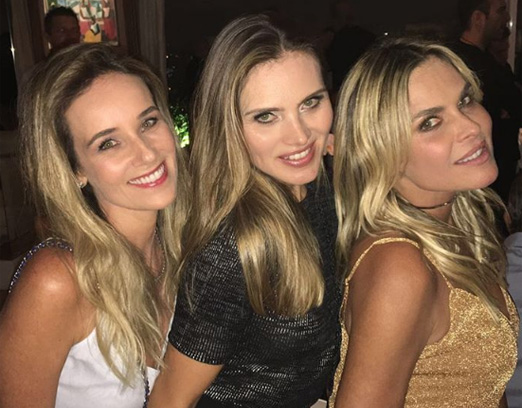 Greyce Giordani, Maythe Birman e Fernanda Barbosa