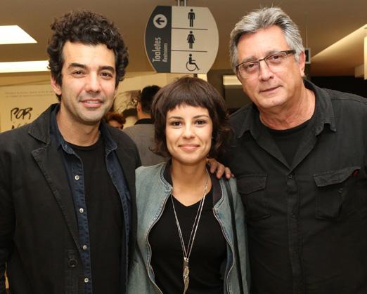Gustavo Machado, Andreia Horta e Eduardo Galvão