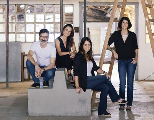 Gustavo, Ciça, Antonia e Lucilla