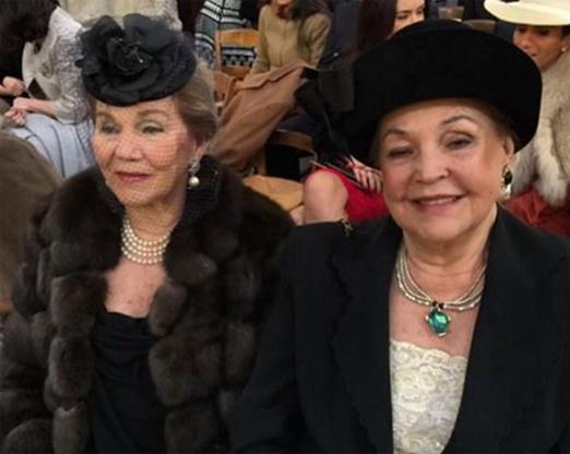 Idinha Seabra Veiga e Therezinha Pittigliani