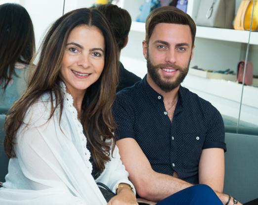 Isabela Menezes e Fabiano Andrade