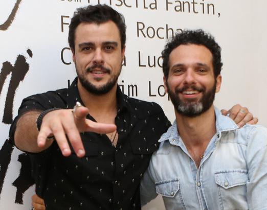 Joaquim Lopes e Mouhamed Harfouch