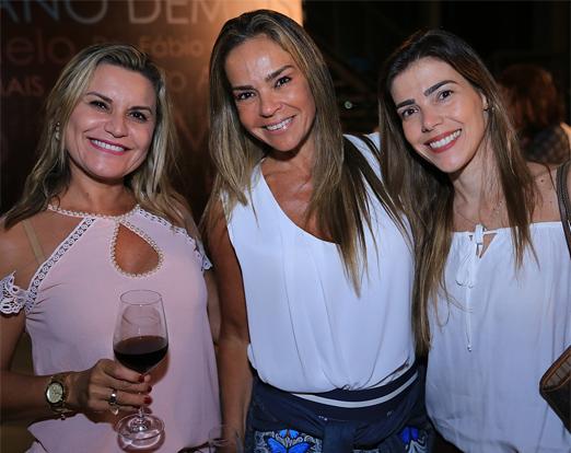 Karla Edde, Carol Rajão e Marcella Melo