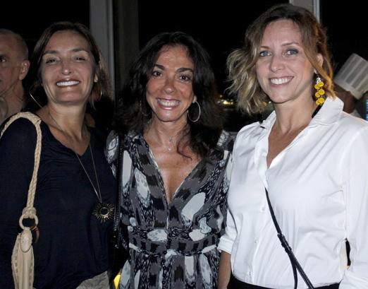 Lucia Guanabara, Ana Luiza Rego e Claudia Melli