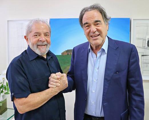 Lula e Oliver Stone