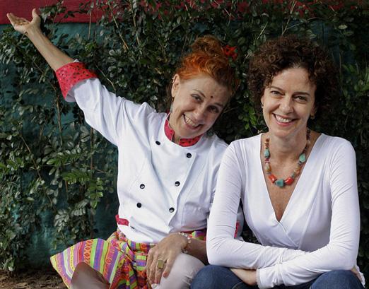 Flávia Marioto e Maddalena Stasi