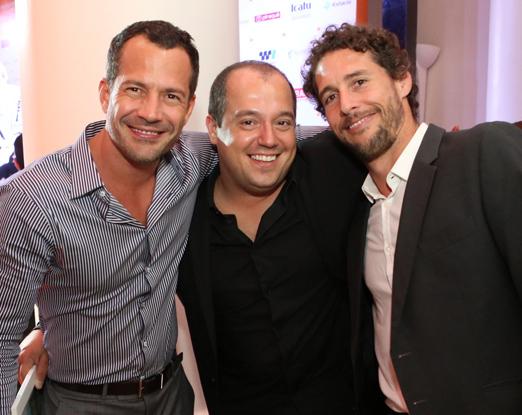 Malvino Salvador, Michel Diamant e Flavio Canto
