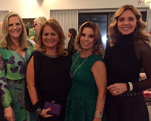 Maninha Barbosa, Renata Fraga, Tania Pereira e Kátia Spolavori