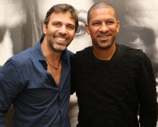 Marcelo Faria e Djalminha