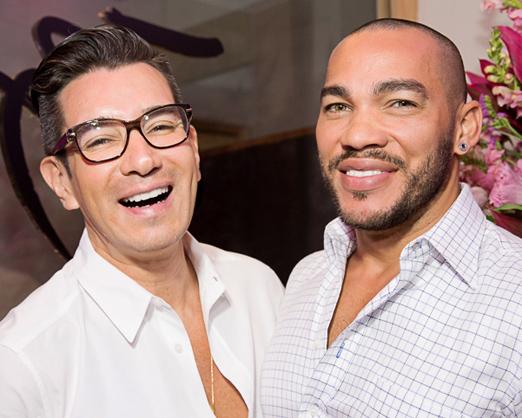 Marcelo Hicho e Italo Luz