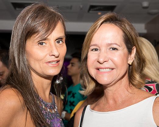 Marcia Maria Echeverria Magacho e Jaqueline Barreto