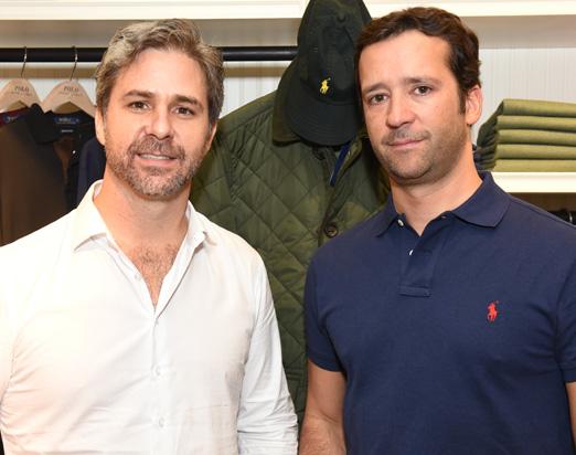 Marcos Botelho e Caio Nabuco