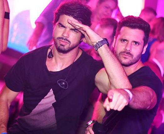 Marcos Silveira e Leo Gandara