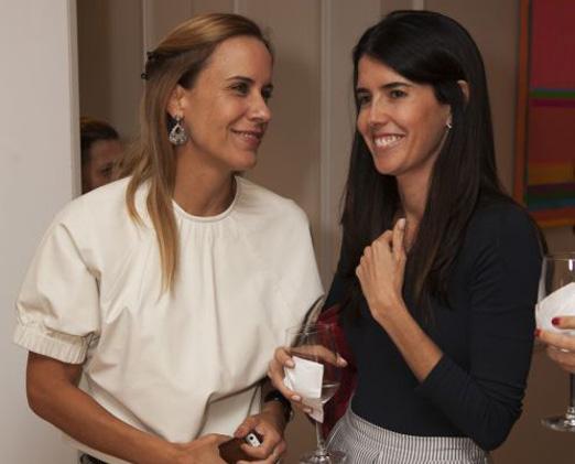 Maria Claudia Salem e Gabriela Affonso Ferreira