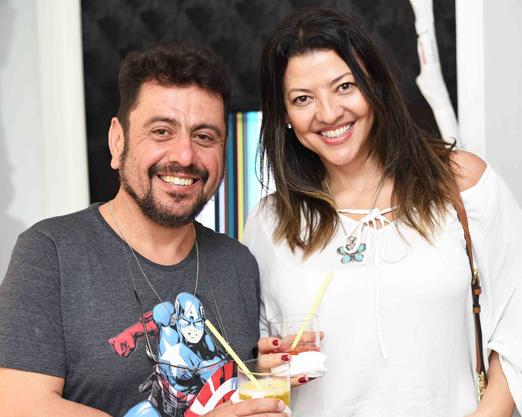Mario Fischer e Adriana Borges