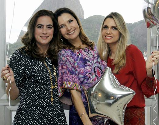 Martha Faissol, Alice Barbosa Lima e Ana Paula Colla