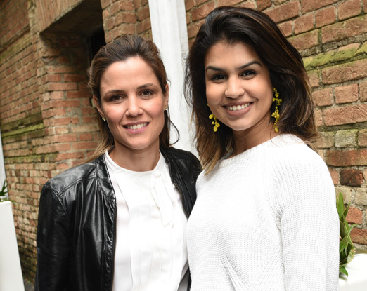 Milena Penteado e Mariana Lustosa