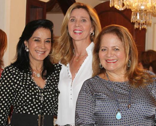 Monica Clark, Kátia Spolavori e Renata Fraga