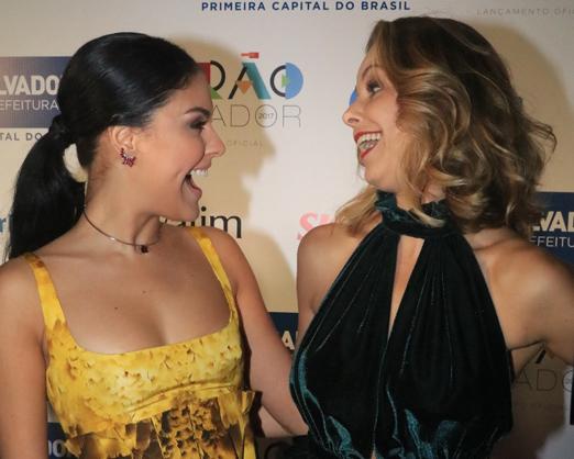 Paloma Bernardi e Bianca Rinaldi