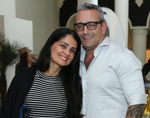 Patricia França e Wagner Pontes