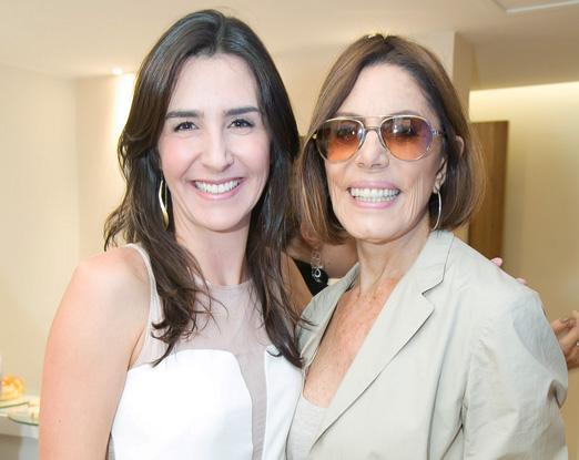 Patricia Ormiga e Mila Moreira