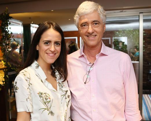 Paula Bezerra de Mello e Daniel Sauer