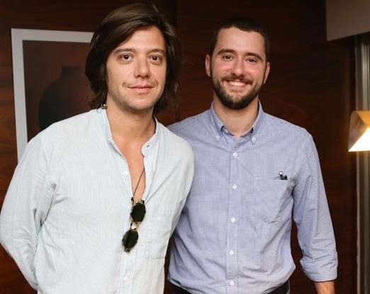 Pedro Rosman e Gabriel Sauer