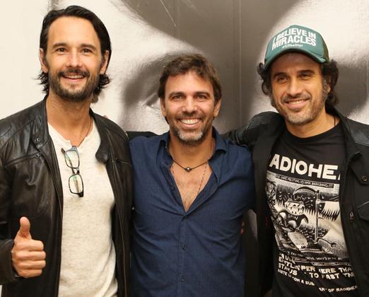Rodrigo Santoro, Marcelo Faria e Eriberto Leão