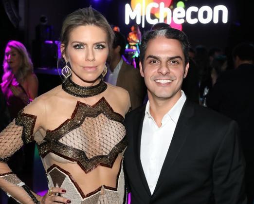 Samara e Marcelo Checon
