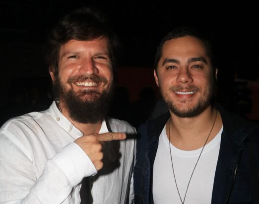 Saulo Fernandes e Levi Lima