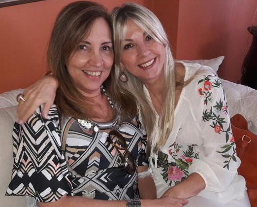 Sumaya Neves e Teresinha Matta