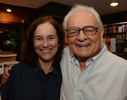 Sylvia Moura e Othon Bastos