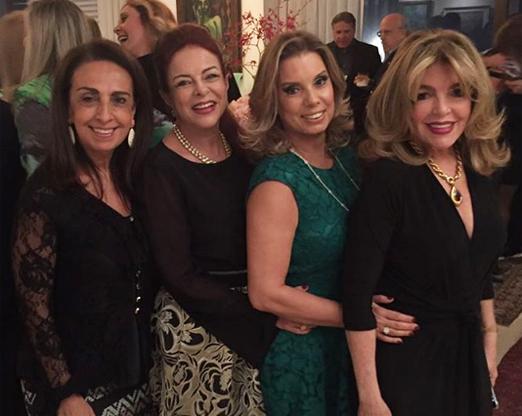 Tania Carvalho, Sueli Bedran, Tania Pereira e Sonia Simonsen