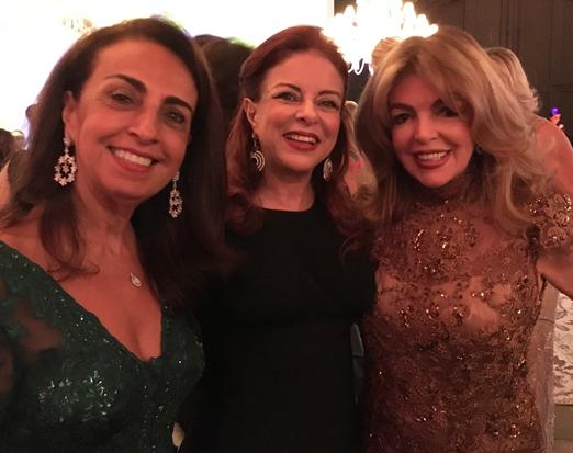 Tania Pereira, Sueli Bedran e Sonia Simonsen