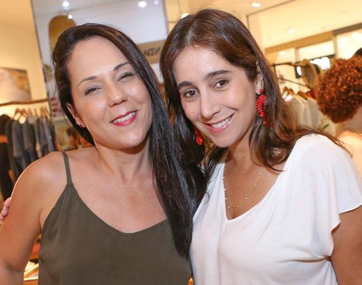 Tati Accioli e Antonia Leite Barbosa