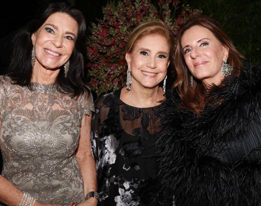 Teresa Aczel, Madeleine Saade e Ruth Szapiro