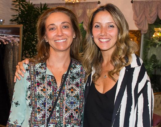 Vera Cortes e Nina Sander