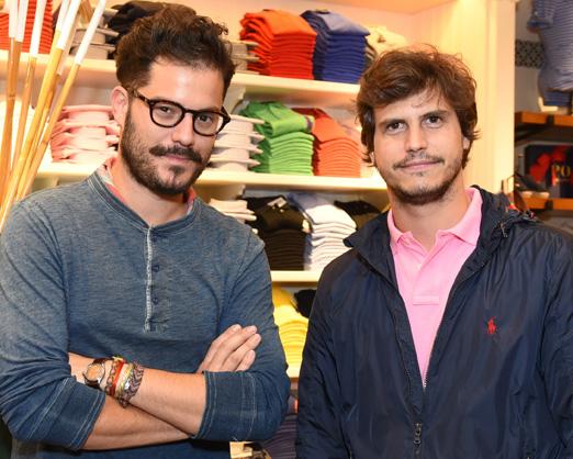 Victor Collor de Mello e Pedro Braun