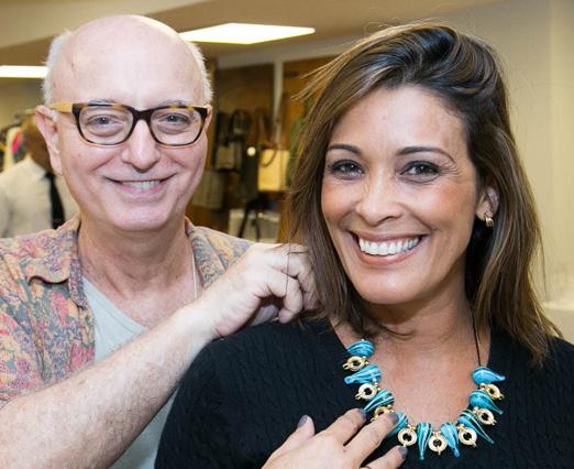 Alberto Sabino e Adriana Ribeiro