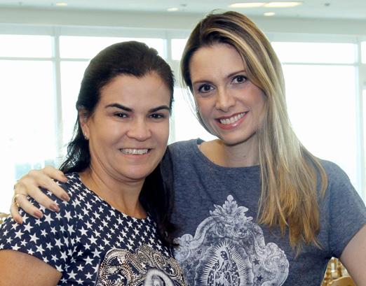 Andrea Lisboa e Ana Paula Colla