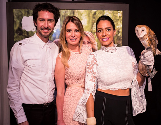 Arlindo Grund, Carla Góes e Ana Paola Diniz
