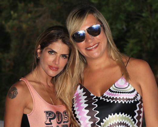 Carol Magalhães e Mannu Carvalho