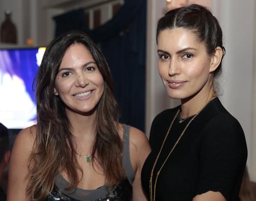 Carol Sampaio e Brenda Costa