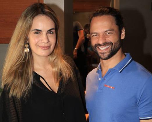 Cecilia Padilha e Daniel Satti