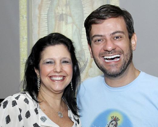 Clara Magalhães e Bruno Astuto