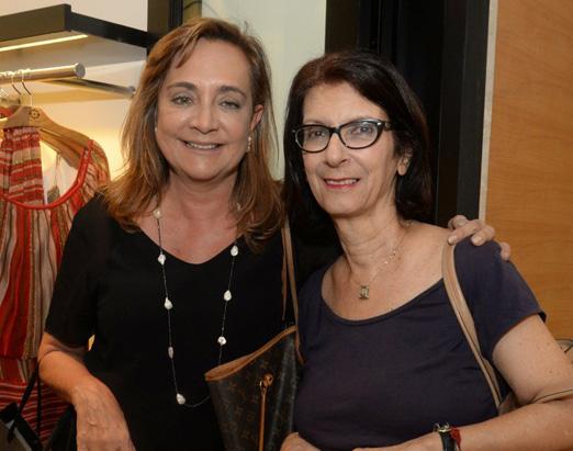 Claudia Simões e Iesa Rodrigues