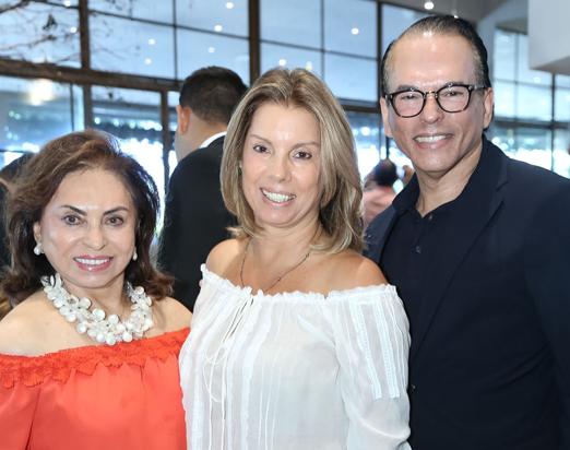 Cleuba Verri, Tania Pereira e Heckel Verri