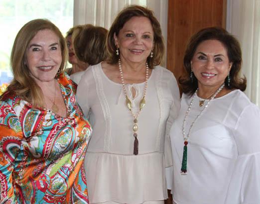 Constança Castelo Branco, Adelina Bittencourt e Cleuba Verri