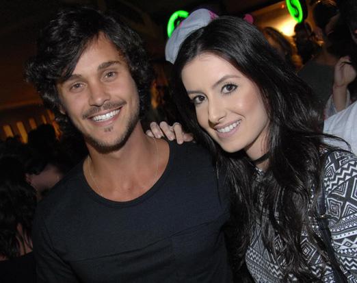 Felipe Marques e Raissa Veras