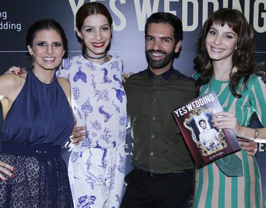 Fernanda Suplicy, Michele Batista, Raphael Mendonça e Giselle Batista